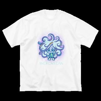 alpacca-creativeのAndromedan(アンドロメダ星人) Big silhouette T-shirts