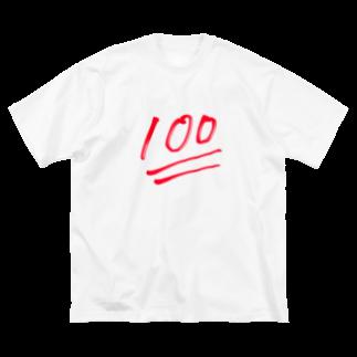 ななまるサブの100点アイテム Big silhouette T-shirts