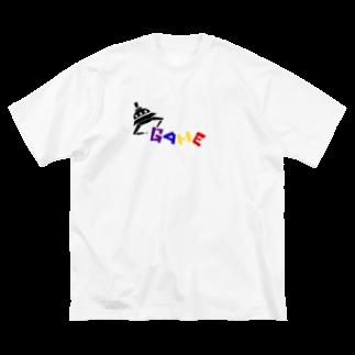 めがねっこのゆーふぉーきゃっちゃ〜 Big silhouette T-shirts