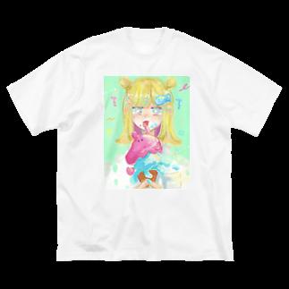 nopiの夏 の味 ?? Big silhouette T-shirts
