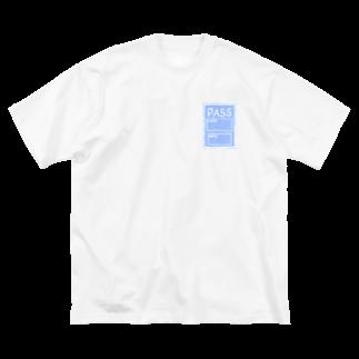 リサのPASS  Big silhouette T-shirts