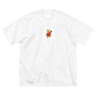 ギター弾きのロニ Big silhouette T-shirts