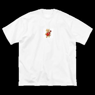 ロニショップのギター弾きのロニ Big silhouette T-shirts
