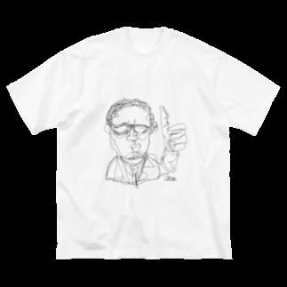 okowa_のO.R.E.O.Y.A.G Big silhouette T-shirts