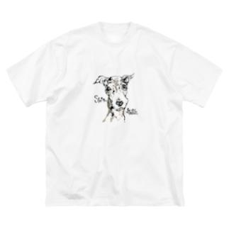 shinちゃん Big silhouette T-shirts