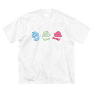 ダンシングバク Big silhouette T-shirts