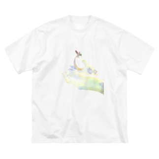 Sapporo LIVE HOUSE Charity Big silhouette T-shirts