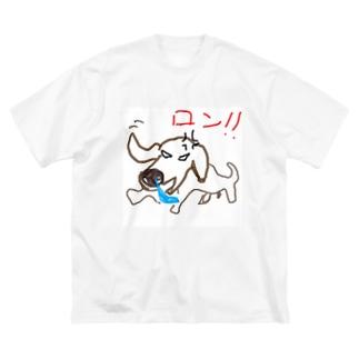 バカイヌロン Big silhouette T-shirts