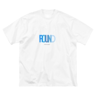 ROUND Big silhouette T-shirts