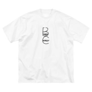 皇月SATSUKIのBreast Cancer Big silhouette T-shirts