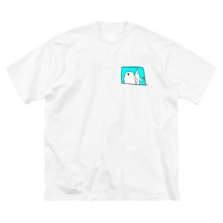 いつものwithフレンズ さわやか Big silhouette T-shirts