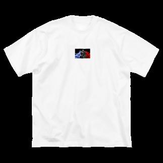 iceshark66の0°YOL.O Big silhouette T-shirts