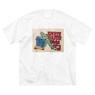 BUTTER on da パンのたい焼きスケート Big silhouette T-shirts