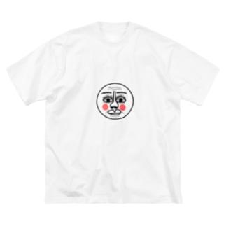 おじさん Big silhouette T-shirts