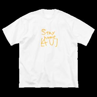皇月SATSUKIのStay home Big silhouette T-shirts