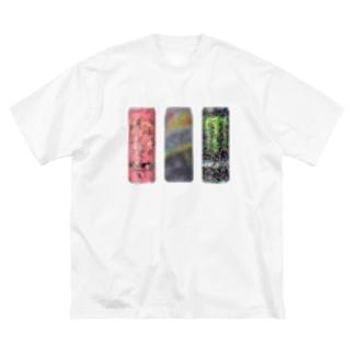 燃料セット1 Big silhouette T-shirts