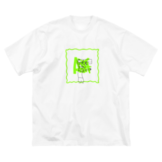 AIMのDoggy Big silhouette T-shirts