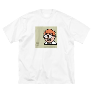既読君 Big silhouette T-shirts