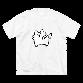スガイのわんわんお Big silhouette T-shirts