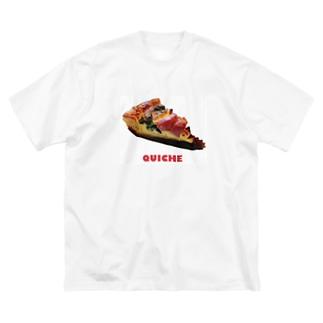 らぶキッシュ Big silhouette T-shirts