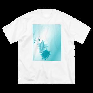 こたのアノマロカリス Big silhouette T-shirts