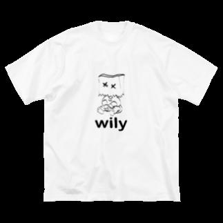 yuria8888のいたずらっこ Big silhouette T-shirts
