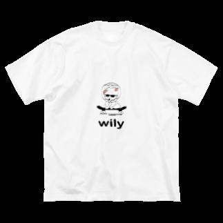 yuria8888のバカンスは気分次第 Big silhouette T-shirts