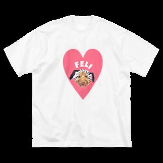 よっしぃのFeli Big silhouette T-shirts