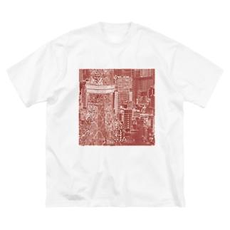 東京|tokyo Big silhouette T-shirts