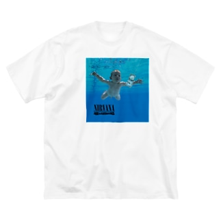 NIRVANA Nevermind Big silhouette T-shirts