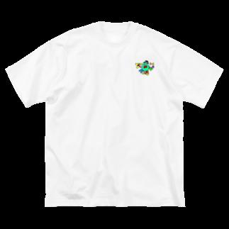 Yusuke Ishidaのジャガイモ Big silhouette T-shirts