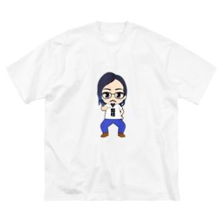きょろおぢぃ Big silhouette T-shirts