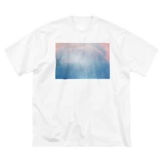 サカシマYのhope Big silhouette T-shirts