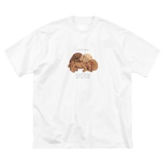 🐩puppy toypoodle Big silhouette T-shirts