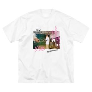 kasashoのesb  Big silhouette T-shirts