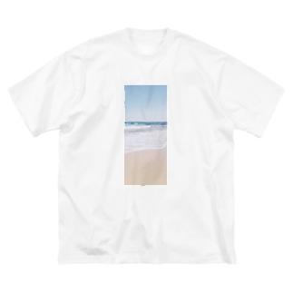 ありがちなエモい感じの写真 Big silhouette T-shirts