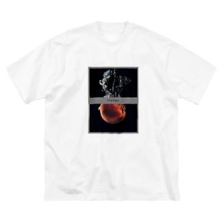 ニュートンの林檎 Big silhouette T-shirts