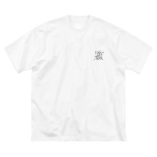カタカナビックシルエットTee Big silhouette T-shirts