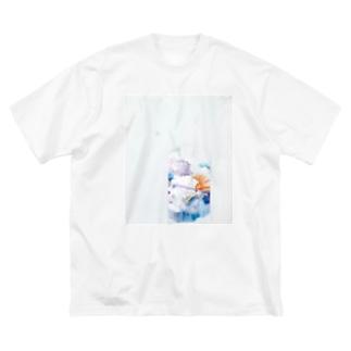 この世の地獄 Big silhouette T-shirts