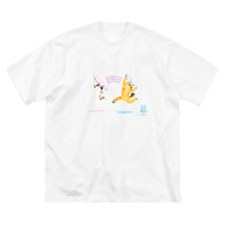 Nyalympic:Foop Big silhouette T-shirts