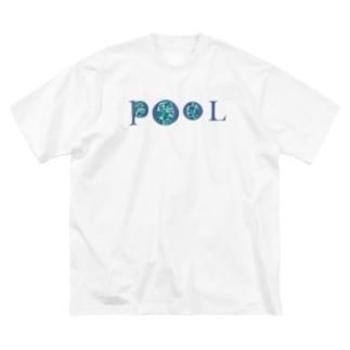 プール 1 Big silhouette T-shirts