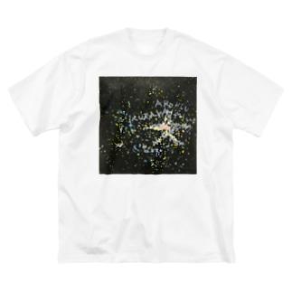 百夜 Big silhouette T-shirts