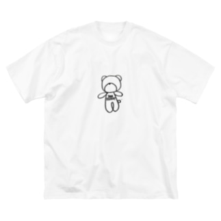 Freeベアー Big silhouette T-shirts
