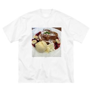 甘い誘惑 Big silhouette T-shirts