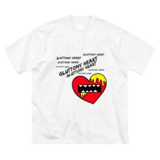 暴食ハート Big silhouette T-shirts