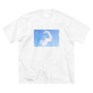 鳥のように Big silhouette T-shirts