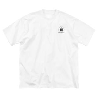 むすびんちょ はむたそ Big silhouette T-shirts