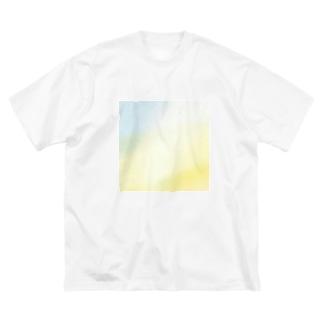 訪れ Big silhouette T-shirts