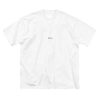 にちゃぁT Big silhouette T-shirts