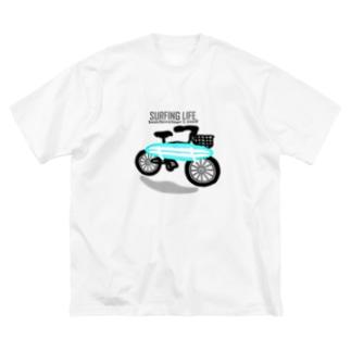 SURFING LIFE Big silhouette T-shirts